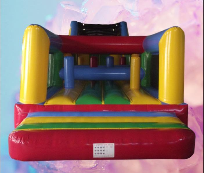 Rainbow Obstacle Course 65ft long 2 part 1036