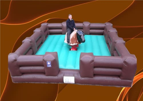 Rodeo Bull Ranch Bed 1013