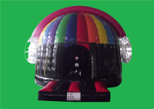 Disco Dome Adult Bouncy Castle 6m with Headphones 1390
