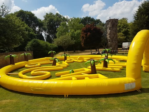 Inflatable Crazy Golf 1210